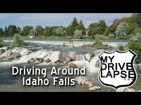 Driving Around Idaho Falls, Idaho