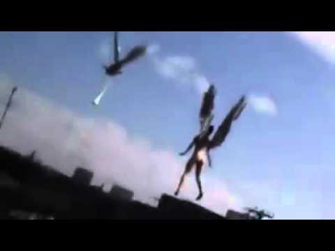 Penampakan Malaikat Manusia Bersayap dan terbang - YouTube