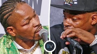 Post Fight | Errol Spence vs Shawn Porter HEATED TALK! - Boxing
