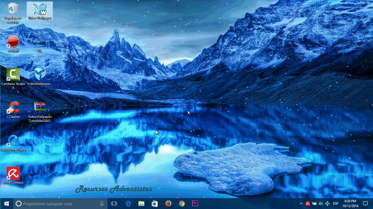 Como Poner Imagenes Gif Como Fondo De Pantalla Windows 10 Youtube