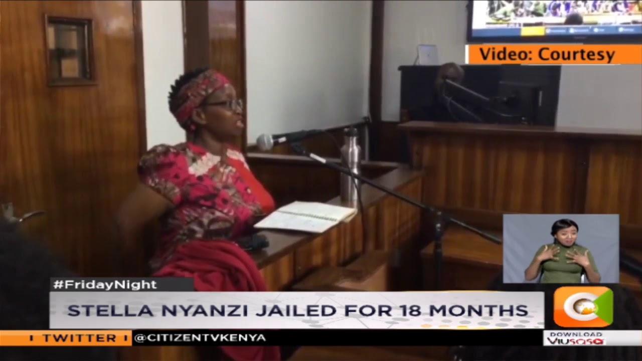 Uganda activist Stella Nyanzi jailed for 18 months
