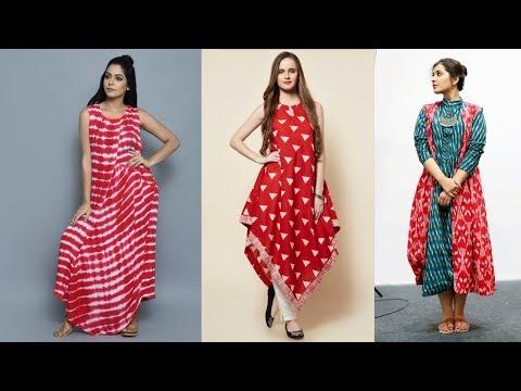 Elegant Indo Western Kurti Designs