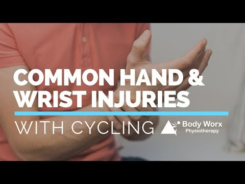 Common Hand / Wrist Injuries with Cycling Testing and Prevention