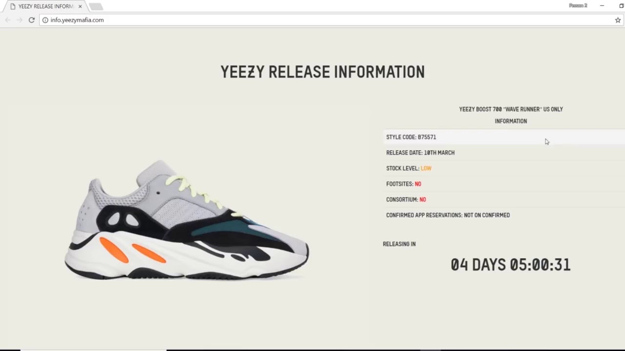 cheap for discount 17183 b0e34 Yeezy Wave Runner 700 Restock Yeezy Supply Queue Bypass & More