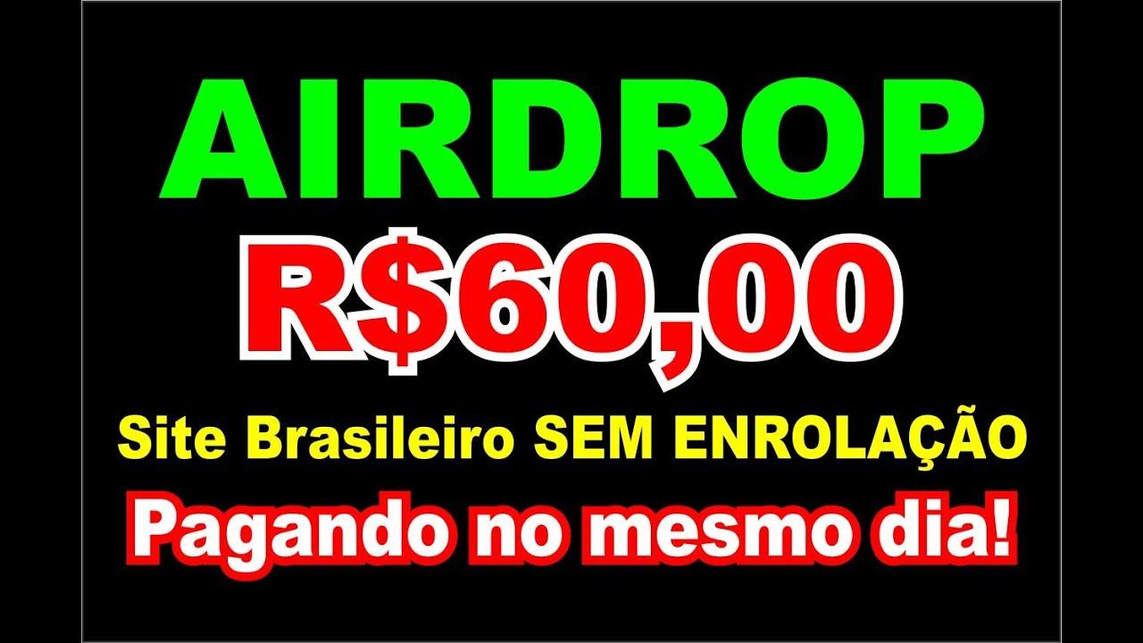 Continua pagando! 22/06 Airdrop Top Pagando Rápido R$60,00!