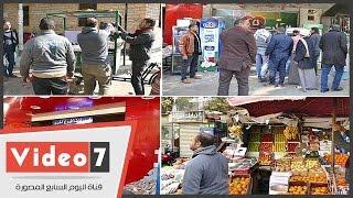 بالفيديو..حى العجوزة يشن حملة إشغالات على شارع النيل الأبيض بميدان لبنان
