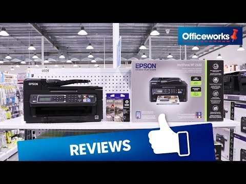 Epson WorkForce Wireless Inkjet MFC Printer WF-2630 Overview