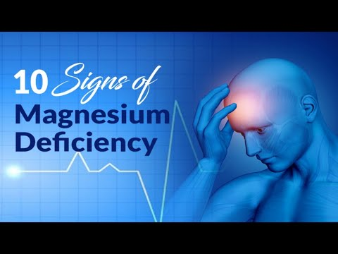 10 Signs Youre Not Getting Enough Magnesium