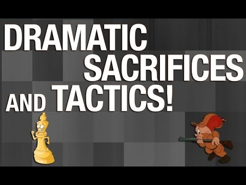 Chess Sacrifices and Tactics that End Games in the Opening!