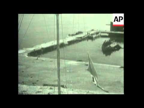 The Battle Of El Alamein, Eisenhower Lands In North Africa
