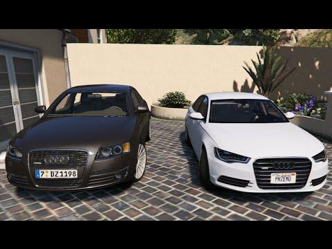 GTA V | AUDI A6 C6 3.0 VS. AUDI A6 C7 3.0 | GTA 5 MOD ...