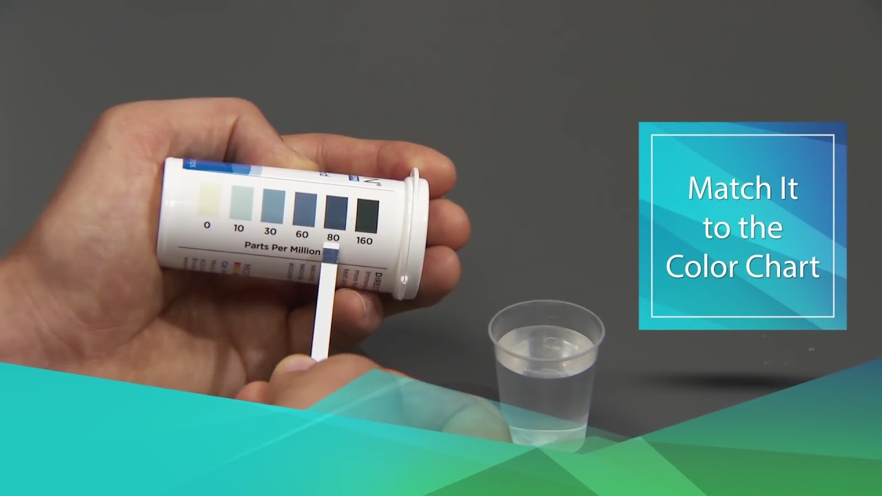 HYDRION Peracetic Acid Test Strip 50 Strips PAA-160