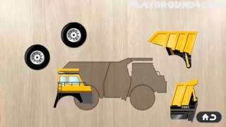 Compilation Vehicles for Kids Jigsaw Bus, Police Car, Taxi, Ship, Helicopter, Truck Tractor, Cem