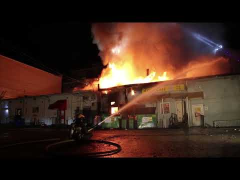 Vancouver 3rd Alarm Cambie St