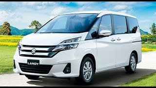 2017 Suzuki Landy MPV   Interior And Exterior   With Full Specification