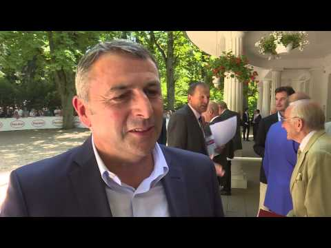 Düsseldorf: Exklusiv-Interview mit Klaus Allofs auf dem Henkel-Renntag