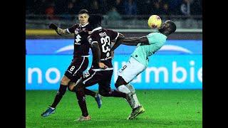 تورينو 0-3 إنتر |  إنتر ينتصر بالثلاثة ويواصل ملاحقة يوفنتوس | المرحلة 13 من الدوري الإيطالي