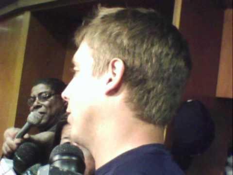 Andy Dirks Detroit Tigers LF postgame v s  Twins 5   17   2012