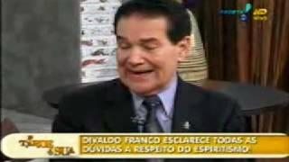 Divaldo e o programa A Tarde é Sua, da Rede TV  - 1