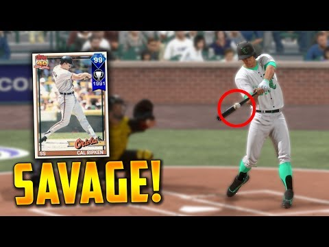 99 CAL RIPKEN JR IS A HIT MACHINE! MLB The Show 17 | Battle Royale