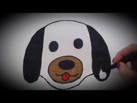 how-to-draw-a-dog-head-easy-/-how-to-draw-/-easy-drawing