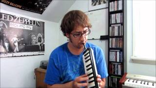 Blue Bossa (K. Dorham) on Melodica
