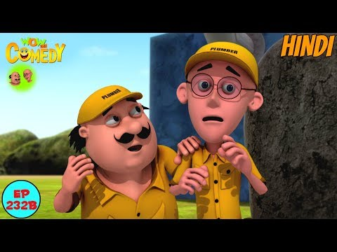 Motu Patlu The Plumber - Motu Patlu in Hindi - 3D Animated cartoon series for kids - As on nick