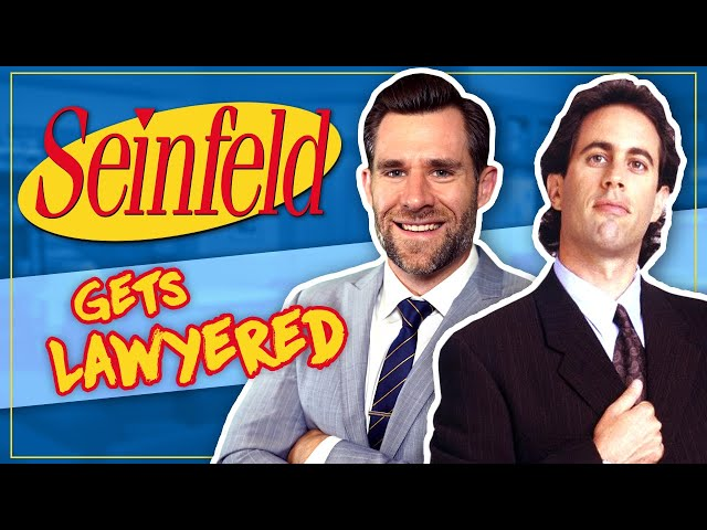 Real Lawyer Reacts to Seinfeld Finale (Is Jerry A Good Samaritan?) // LegalEagle