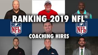 Ranking 2019 NFL Head Coaching Hires