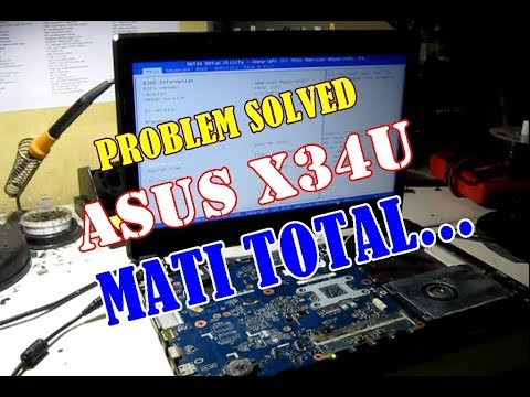 Servis Asus X43u Matot Totally Dead Youtube