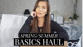 SPRING/SUMMER 2019 BASICS HAUL - TOPSHOP, ZARA, URBAN OUTFITTERS | aliceoliviac