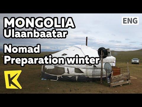 【K】Mongolia Travel-Ulaanbaatar[몽골 여행-울란바토르]유목민의 겨울 준비/Ger/Nomad/Horse riding