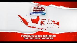 Inilah Para Pemenang Sobek Berhadiah Dari Seluruh Indonesia!