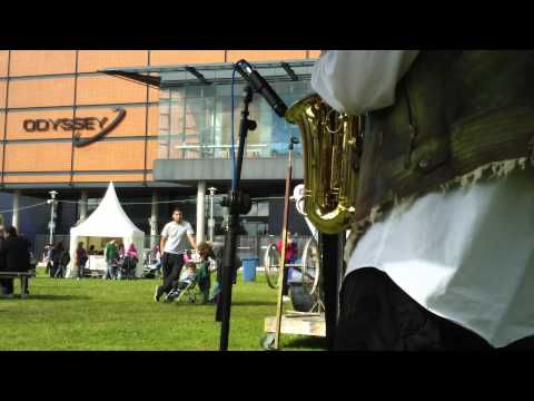 The Jahm Band live at the Maritime Festival in Belfast
