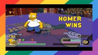 [PSX] The Simpsons Wrestling (Homer) [TAS]