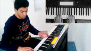 Emin Sabitoglu - Tehmine/öz terzimde (PIANO COVER)