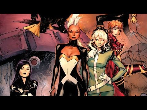 Top 10 Sexiest Marvel Female Comic Book Characters