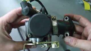 4 Takt Roller Vergaser Außen Aufbau , Beschreibung , Erklärung Tutorial [HD] neu