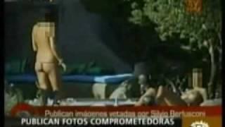 Berlusconi:foto VillaCertosa con ex ministro Ceco Topolanek