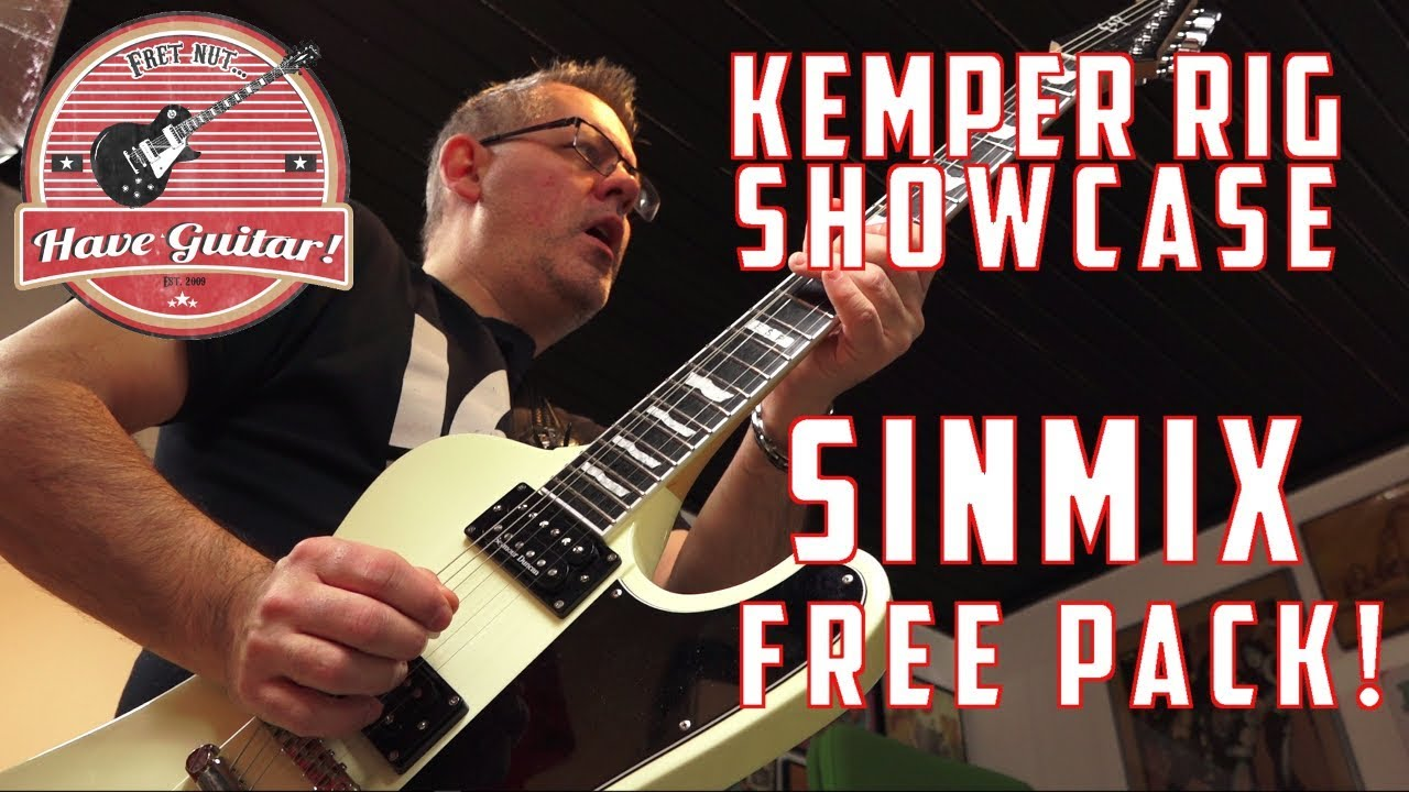 SinMix Free Pack - 78 free Kemper profiles! - Kemper Rig Showcase