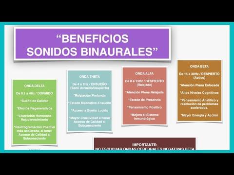 🔊¿Que Son y para que Sirven los SONIDOS BINAURALES? 🎧   MasterClass Gratis 🎓