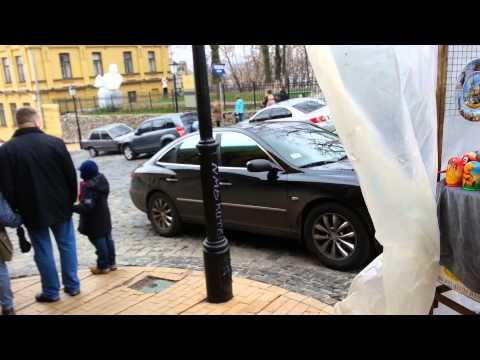 Поездка в Киев. часть 11.Загадка. Андреевская церковь.