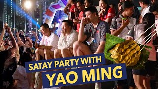 SATAY PARTY WITH YAO MING | Day 13 (Part 2) Asian Games 2018 Vlog