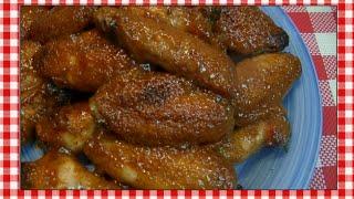 Brown Sugar Honey Mustard Wings Recipe ~ Noreen's Kitchen