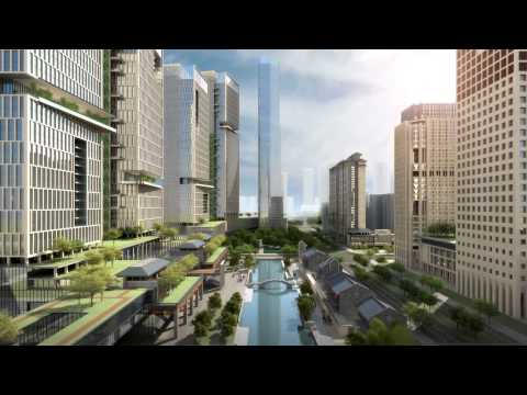 Frontop 3D Animation for Financial City (2012)