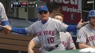 NYM@LAA: Wright gets ejected after d'Arnaud strikeout