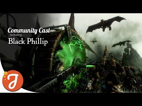 Doomwheel Meets Doom Divers feat. Black Phillip | Skaven Vs Greenskins | Total War: WARHAMMER II |