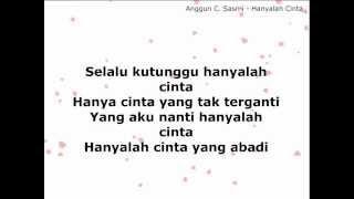 Anggun - Hanyalah Cinta (with LYRICS)