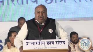 "Shri. Ishwar Das Rohani - 3rd BCS ""Session 2: Dying Farmer and a Growing Economy"""