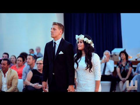 Emotional wedding haka brings New Zealand bride to tears